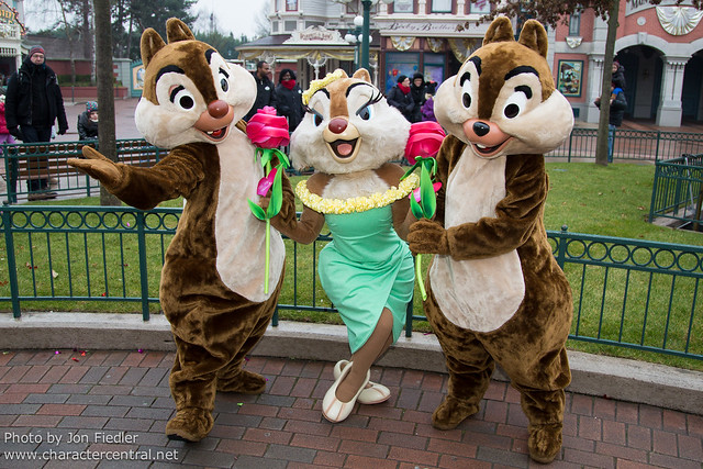 DLP Feb 2013 Chip Dale And Clarice Celebrate