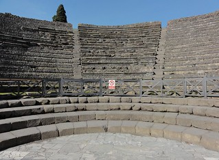 Indoor Roman Theater in Pompeii | by Simon Chilton