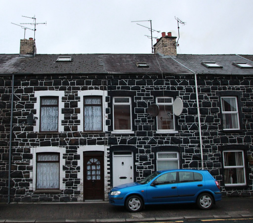 Black Brick House And Car Ballymena Stephen Curry Flickr