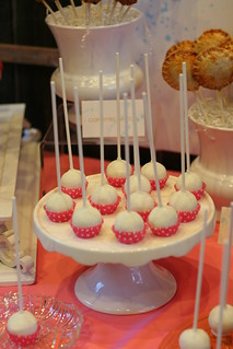 Classic White Cake Pops Displayed in Mini Cupcake Liners | by Sweet Lauren Cakes