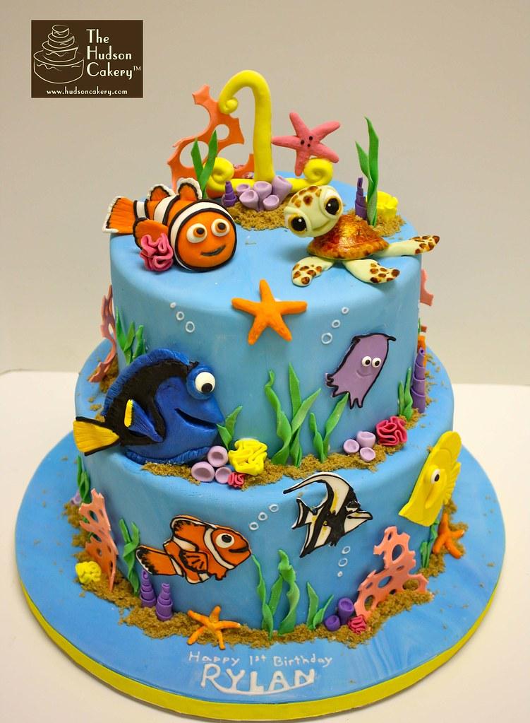 Finding Nemo 1st Birthday Cake Jennifer Flickr