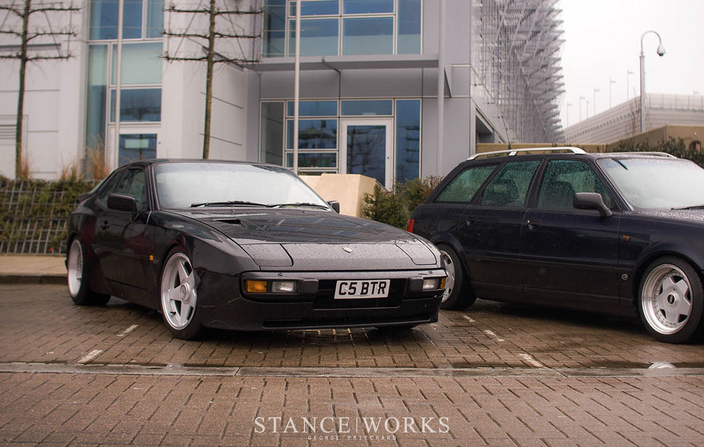 Porsche 944 On Avez Wheels Stanceworks Uk At The