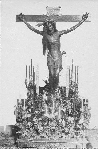 Cristo de las Aguas  © Fondo Rodríguez. Archivo Histórico Provincial. JCCM. Signatura 01B-333