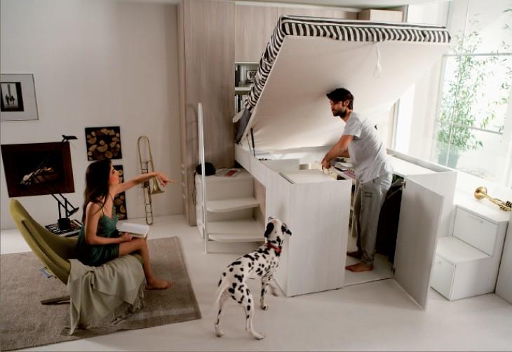 Una camera matrimoniale a soppalco   Dielle Modus: design e …   Flickr