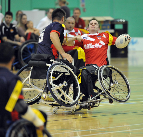 Wheelchair rugby | by medwaycouncil