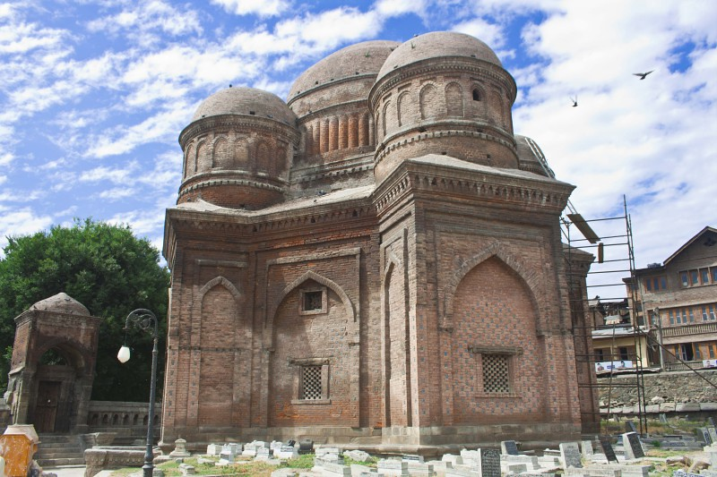 Tomb of the Mother of Zain-Ul-Abidin in Mazar-I-Salateen, Srinagar, Jammu & Kashmir, India
