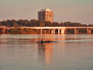 Rowers on Arkansas River - Topaz Adjust | by alnbbates