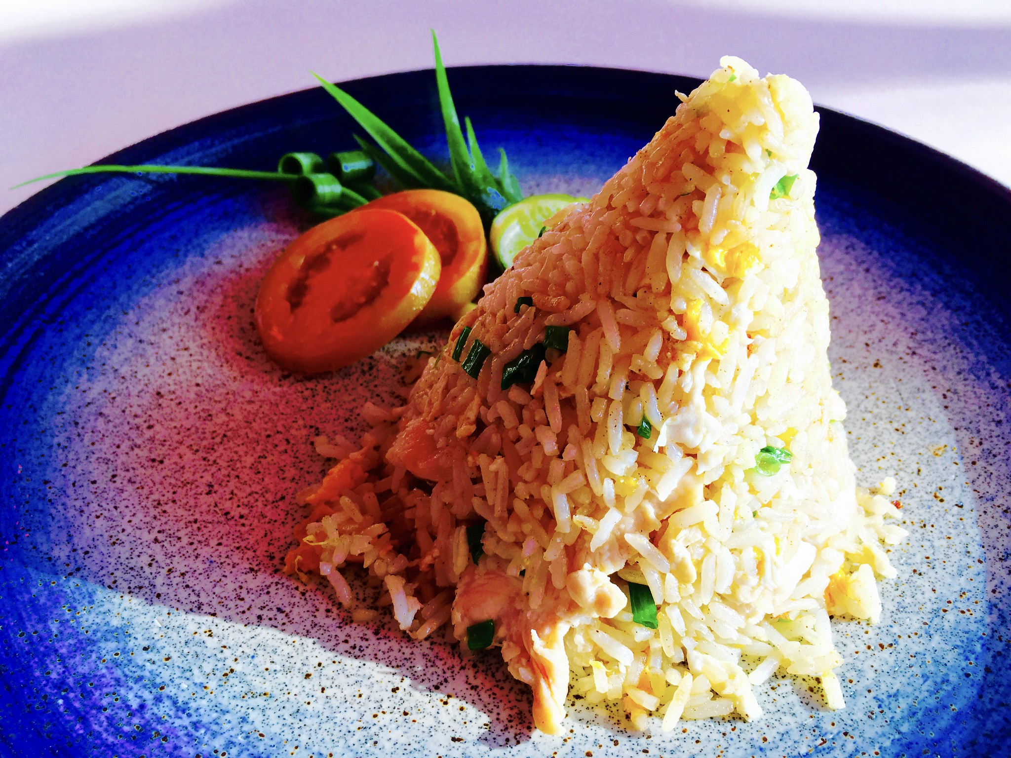 Chicken Fried Rice at Baan Rim Pa, Phuket