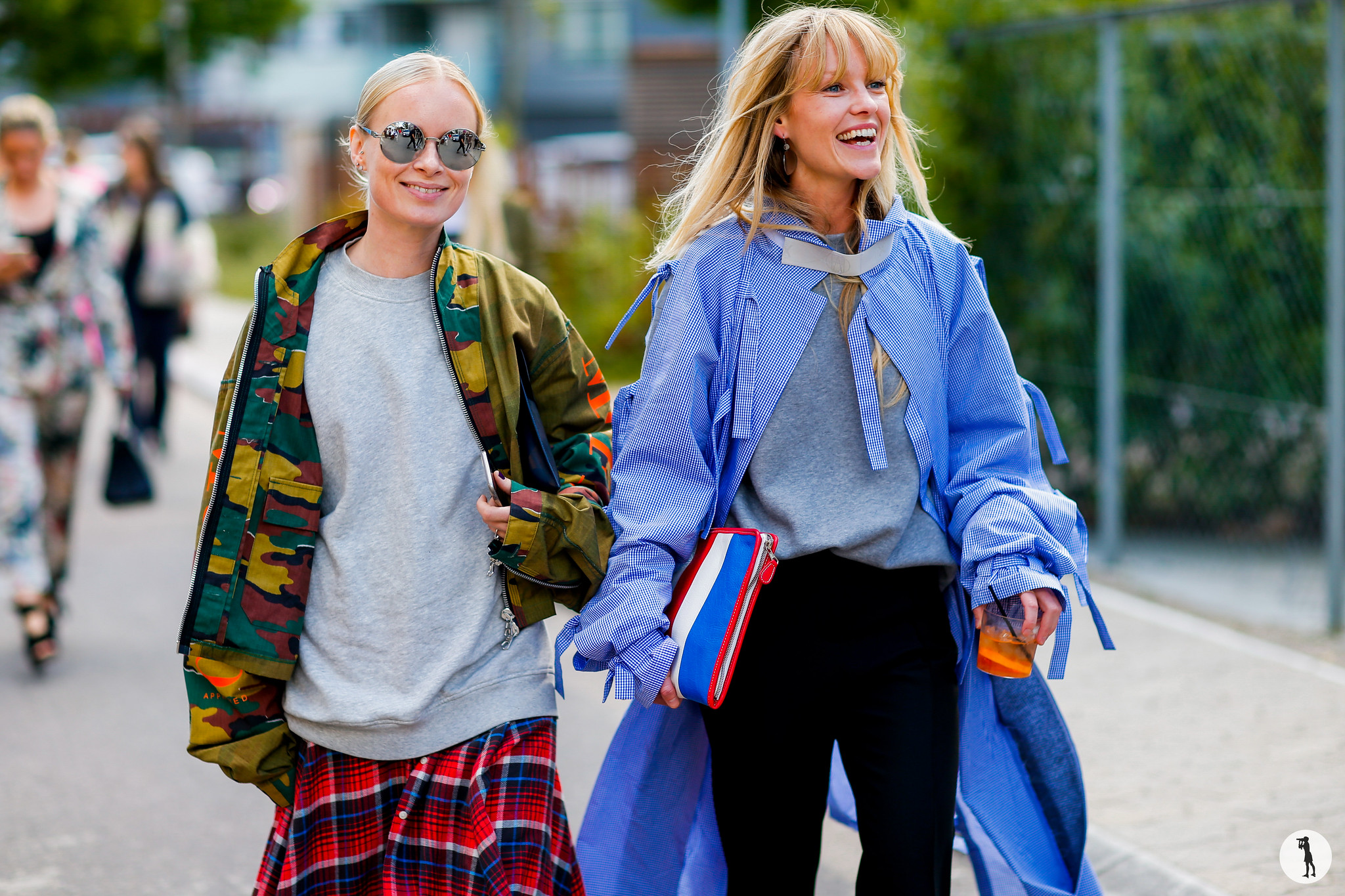 Thora Valdimars and Jeanette Friis Madsen - Copenhagen Fashion week SS17 (2)