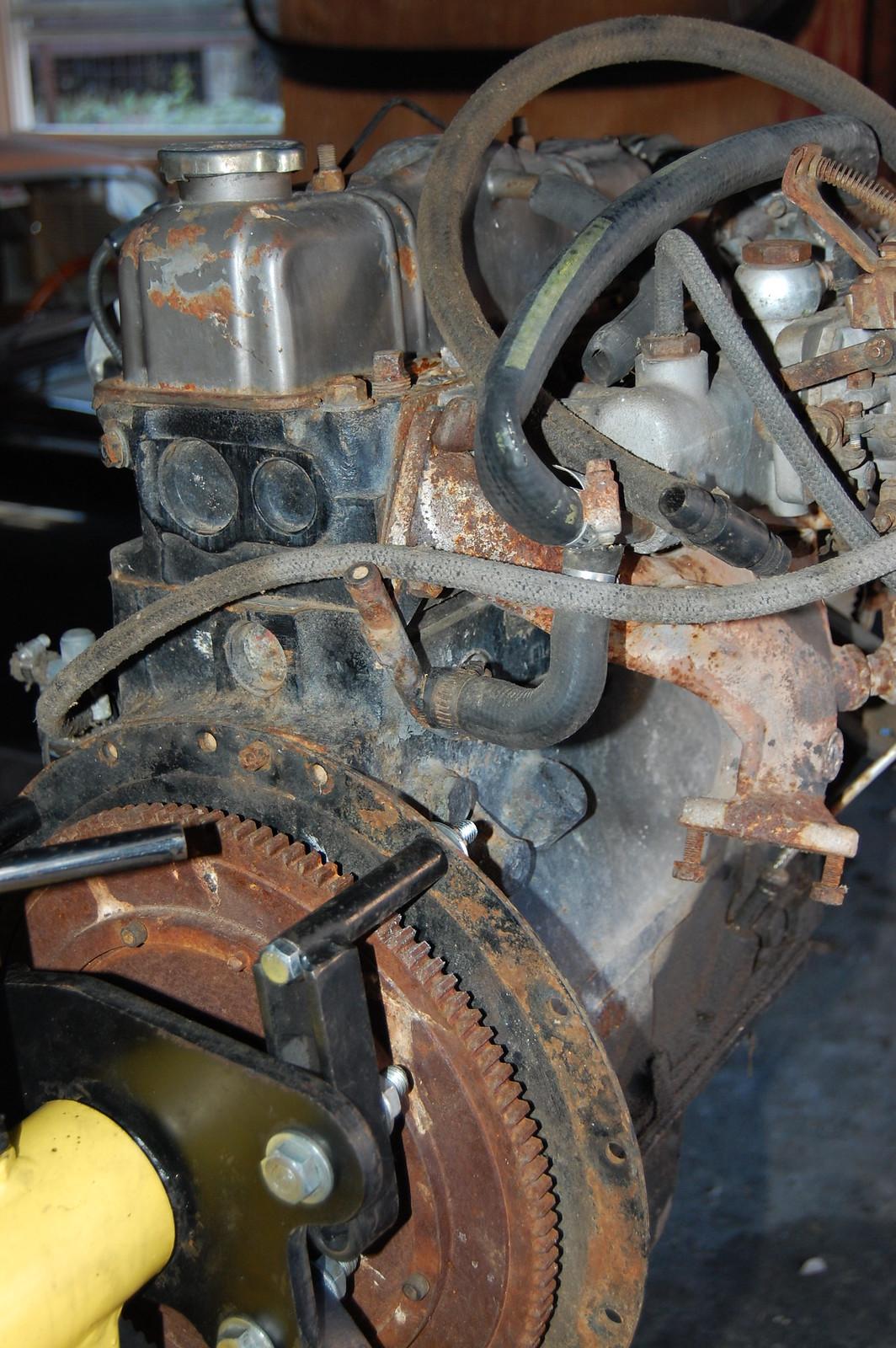 Spitfire Engine Rebuild Triumph Spitfire Engine