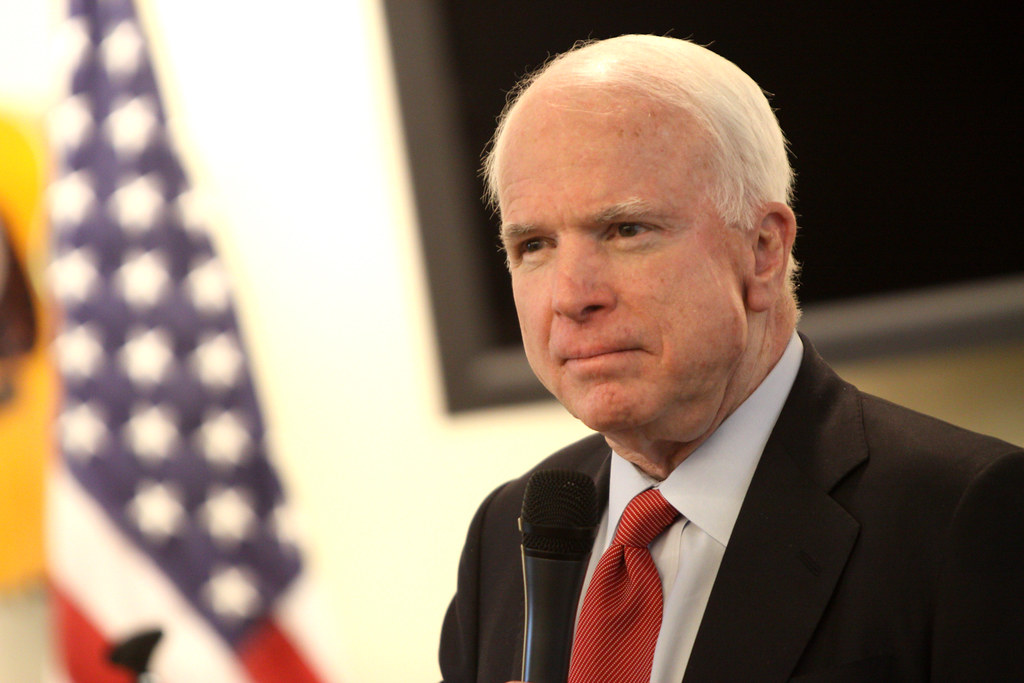 Sen. McCain returning home to Arizona after treatment