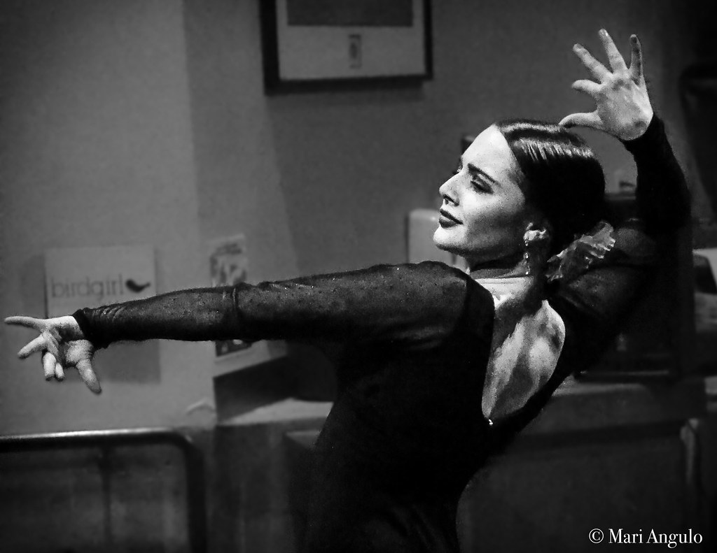 Flamenco Dancer Black and White | Flickr - Photo Sharing!
