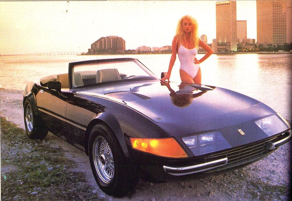 Miami Vice Ferrari Daytona Spyder 1987 Iconic Scene A