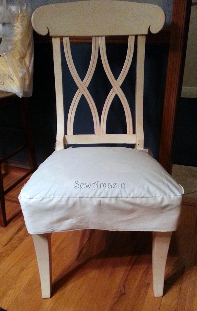 DiningKitchen Chair Seat Cover muslin pattern blogged  : 85566500555503181cf0b from www.flickr.com size 649 x 1024 jpeg 256kB