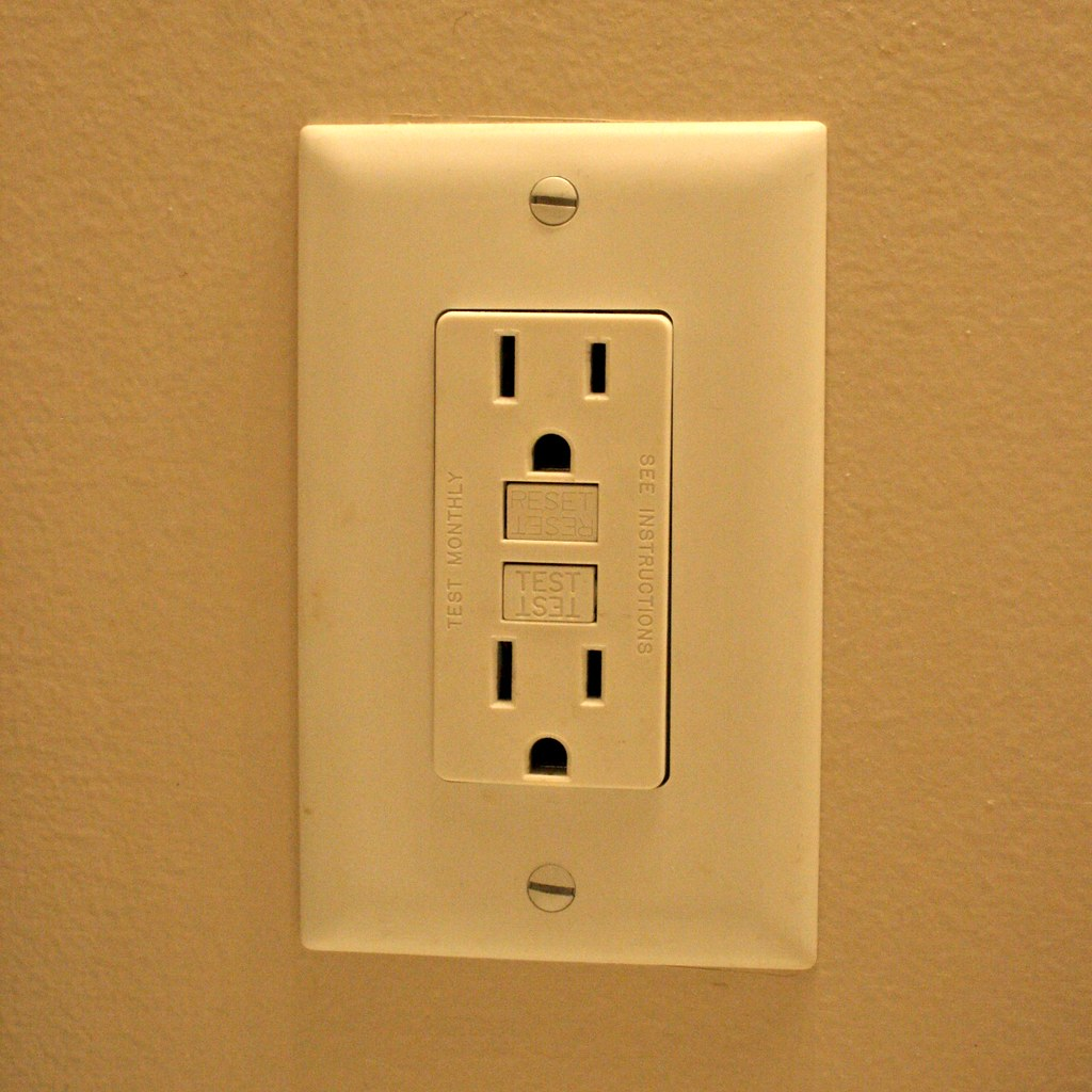 GFCI Outlet - Feel Free To Use This Photo For