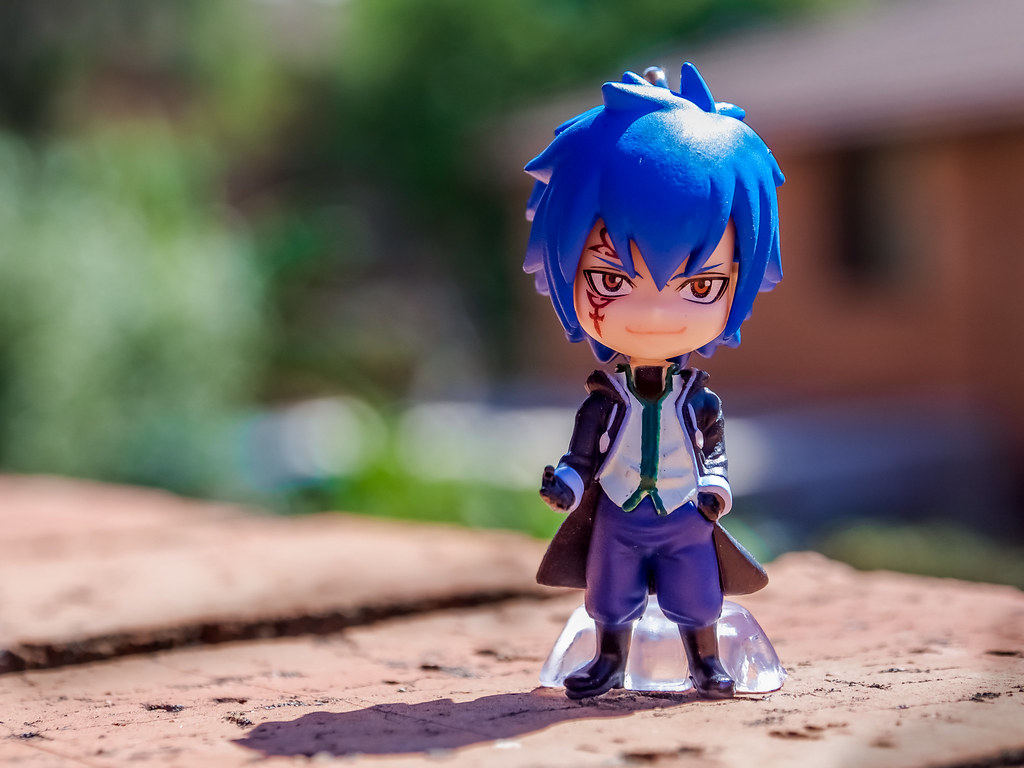 jellal 48 365 got this jellal figurine in the mail today flickr. Black Bedroom Furniture Sets. Home Design Ideas