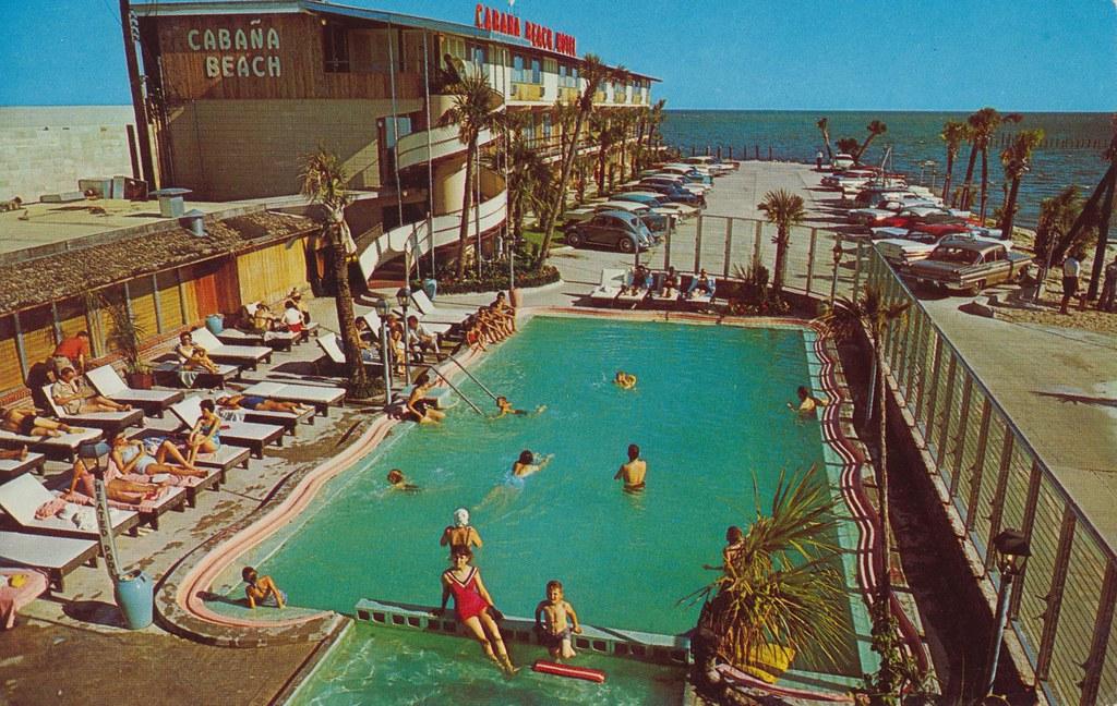 Cabaña Beach Motel - Biloxi, Mississippi