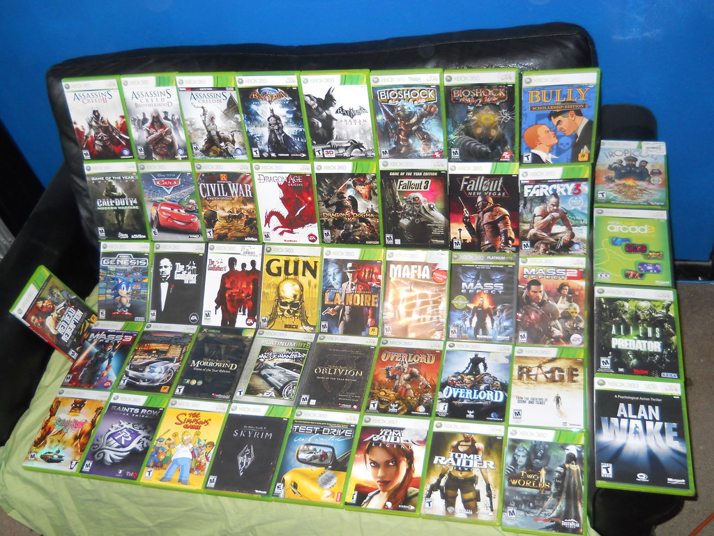 Xbox 360 Games Collection Xbox 360 Game C...