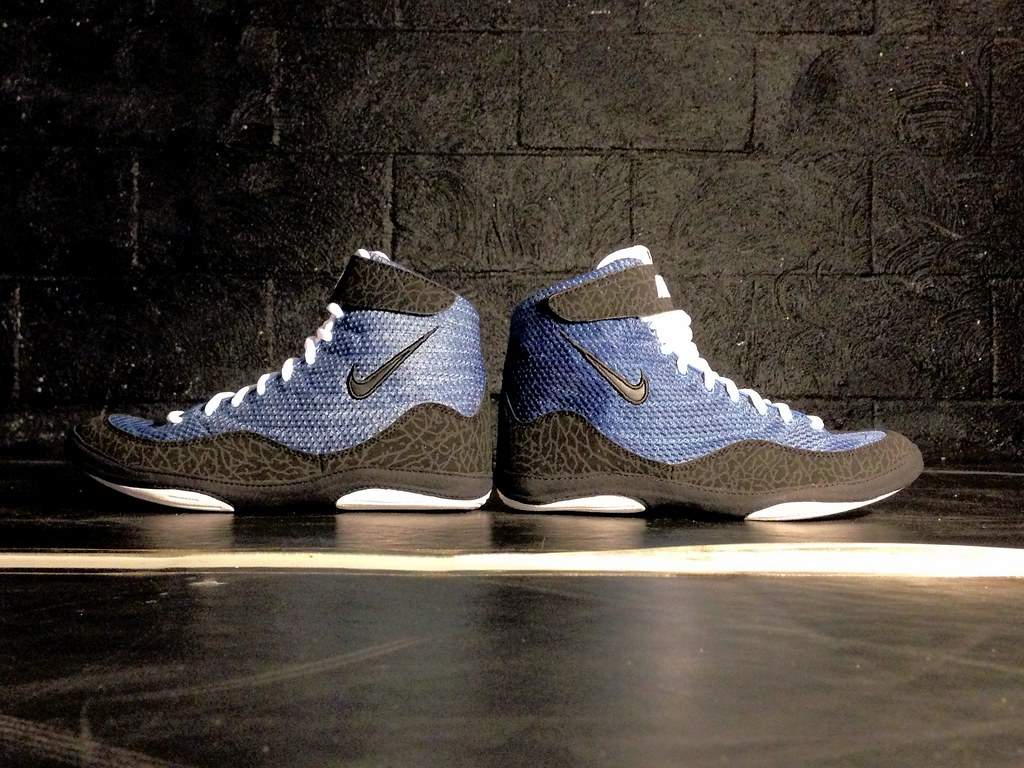 ... Customized nike inflict 3 | by Customized Wrestling Shoes