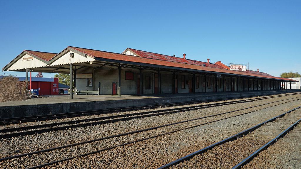 Ashburton Railway Station This Building Looks Set For