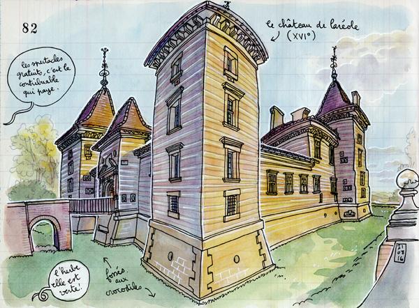 le château de laréole