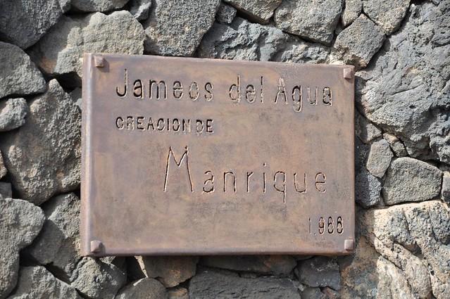 Jameos del Aqua creacion de Manrique, 1966