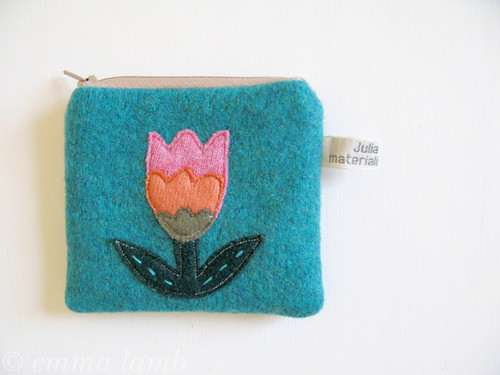 folk art coin purse | by emma lamb : living in colour