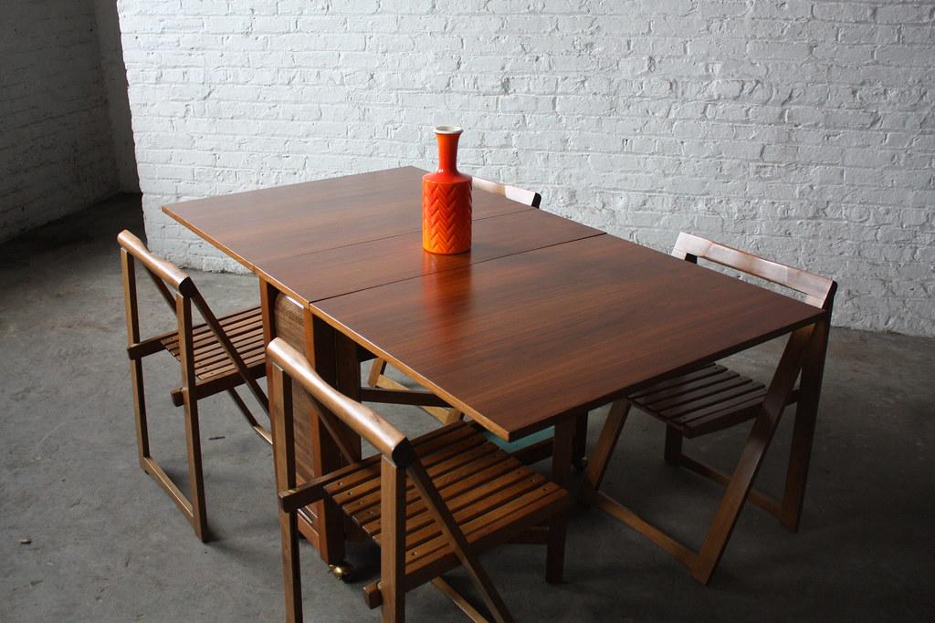 Insane Danish Mid Century Modern Drop Leaf Gate Leg Table Flickr - Mid century modern gateleg table