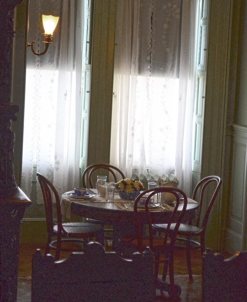 breakfast nook in dining room fdr national historic site u2026 flickr