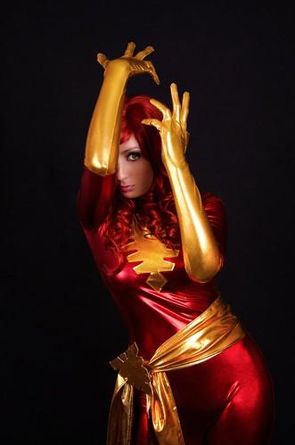Dark Phoenix Body Paint Cbg