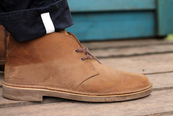 Clarks Shoes Men Travel Trek Brown