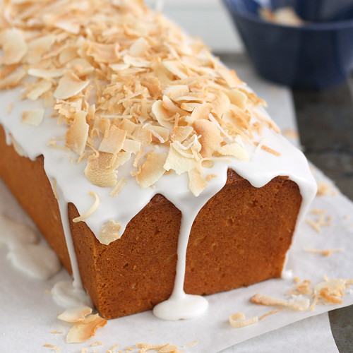 Coconut-Buttermilk Pound Cake | by Tracey's Culinary Adventures