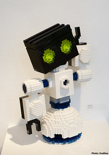 robot - lego - art director's club - nyc - 14 | by Eva Blue