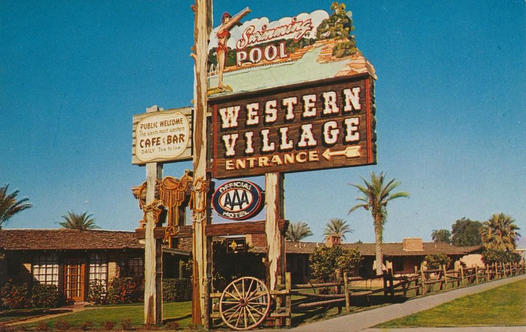 Western Village Motor Hotel - Phoenix, Arizona