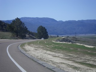 Palomar Mountain coming into view! | by Chris Kostman of AdventureCORPS / Badwater