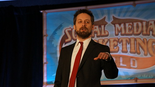 Speaker: Brian Carter - Social Media Marketing World 2013 | by TopRankMarketing