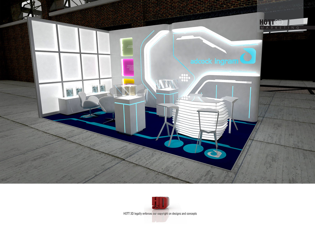Exhibition Stand Fitter Jobs : Adcock ingram tron hott d modular custom exhibit