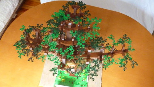 "HUGE LEGO TREE ""Dąb Bartek"" 