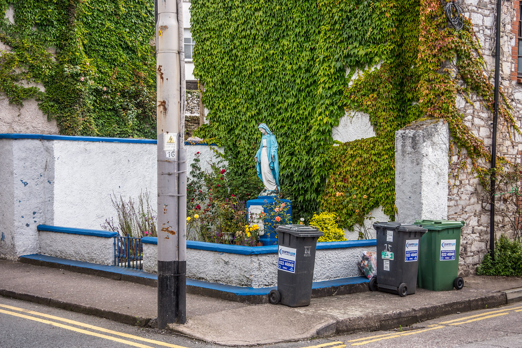 A MARIAN GROTTO IN CORK [CORNER OF DUNBAR STREET AND MARGARET STREET]-120643