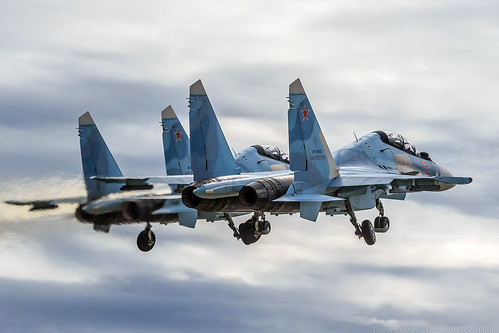 "Su-30SM ""Falcons of Russia"" 