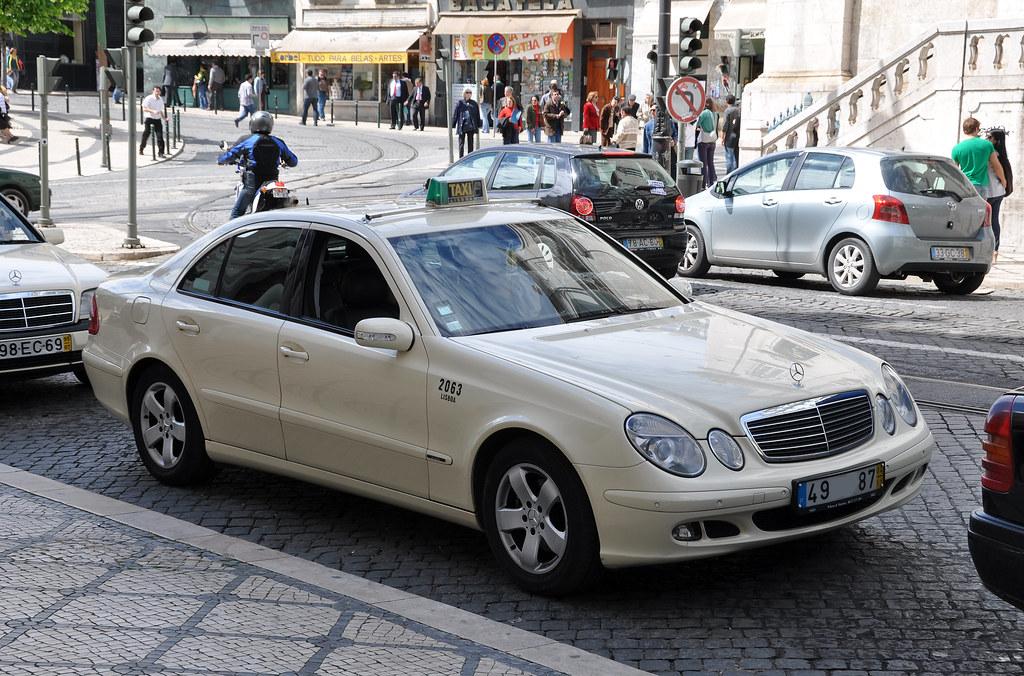 Mercedes benz classe e w211 taxi lisbonne portugal for Mercedes benz pt