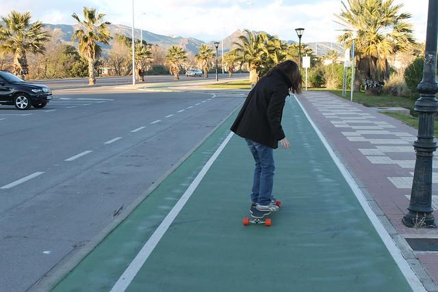 llisa longboard - aniwiki - grao de castellón  - skate