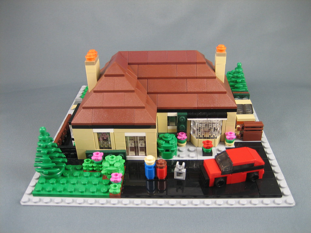 Another mini lego house this was a christmas present for m flickr - Lego house interior ...