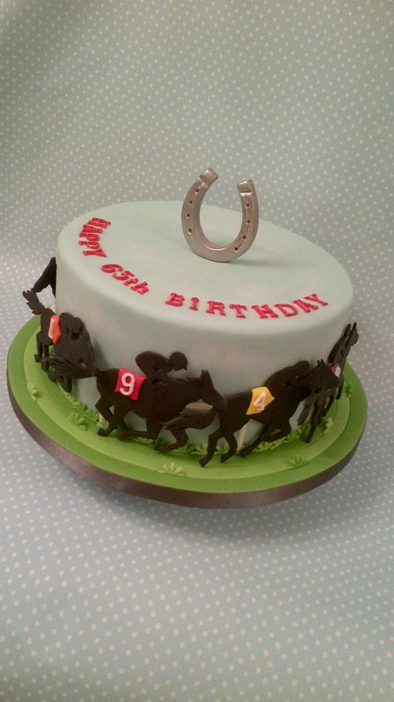 Birthday Cake Horse Racing