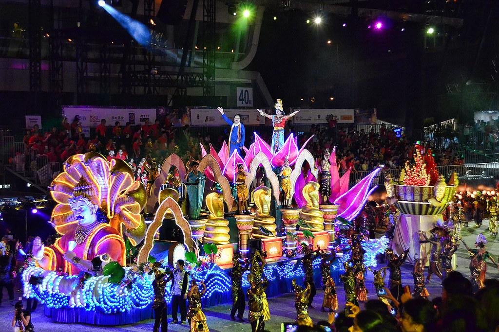 Chingay Parade 2013 An Indian Item Raja Naga Jothi