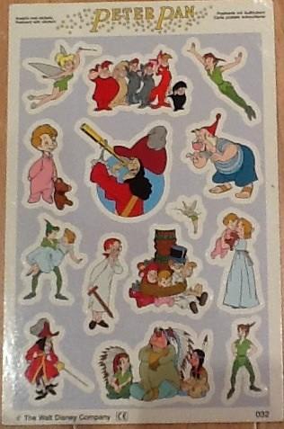 Peter Pan Sticker Card | Sam Buchanan | Flickr