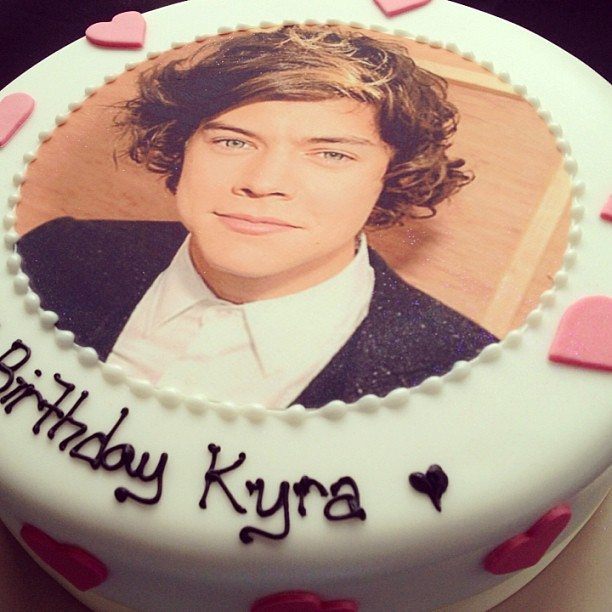 Birthday Cakes Of Harry Styles