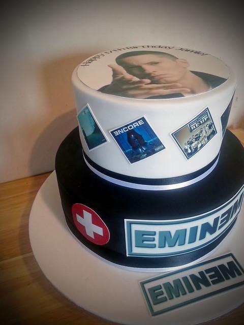 Eminem Cake Topper