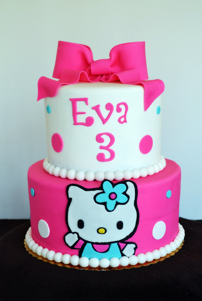 hello kitty birthday cake hello kitty cake simply sweet creations flickr 4780