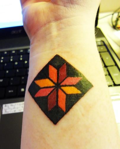 sewing tattoo | Flickr : quilt tattoo - Adamdwight.com